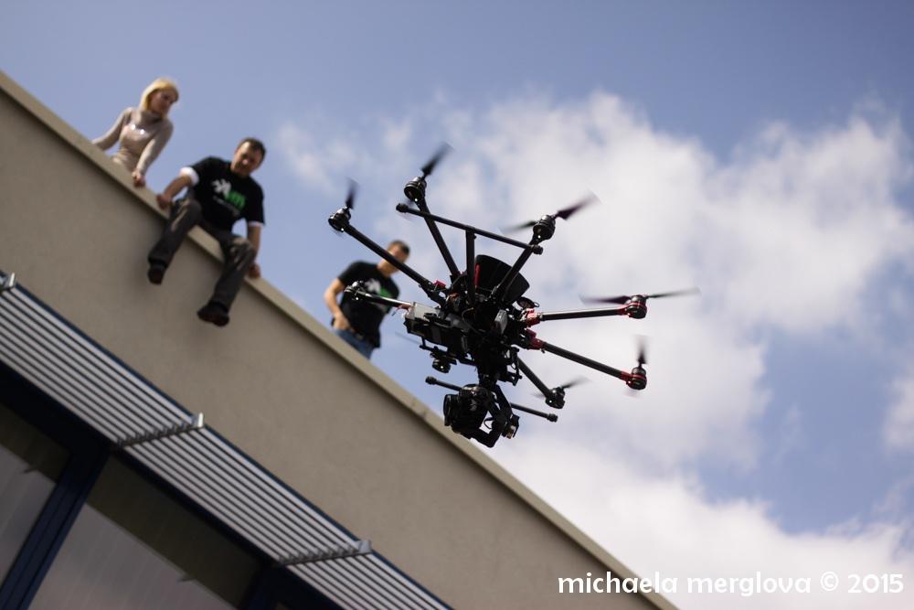 Drony se objeví i na letošním Barcampu