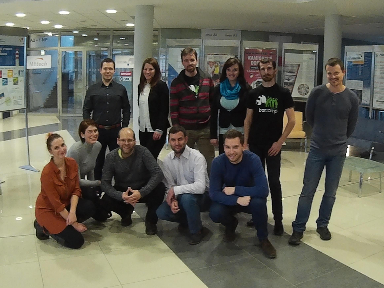 Organizátoři Barcampu, PromoTým a Jan Černý