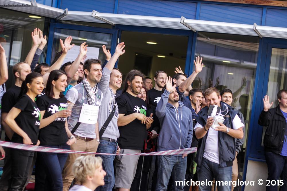 Atmosféra na Barcampu je bezprostřední a působí tvořivě a nadšenecky