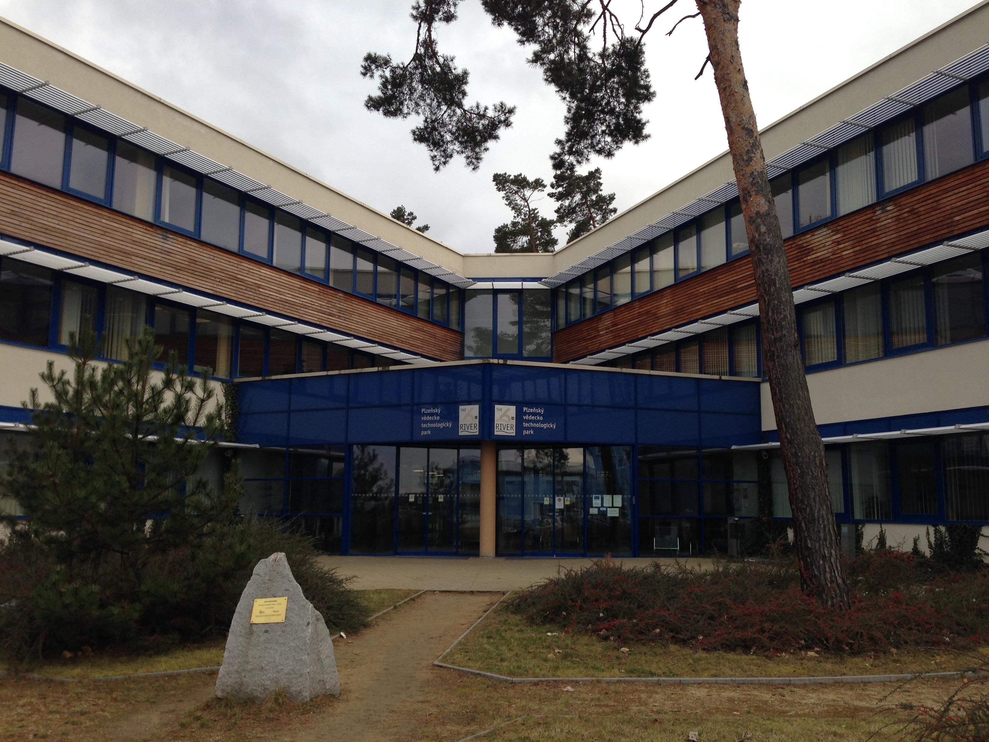 Vědeckotechnický park, ve kterém se Barcamp každoročně koná
